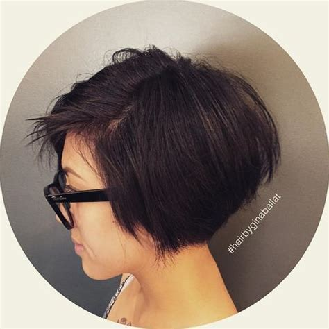 choppy nape length bob 30 beautiful and classy graduated bob haircuts
