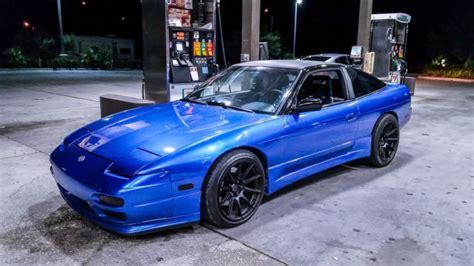 nissan 240sx horsepower nissan 240sx hatchback 1993 blue for sale