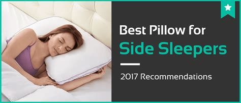 Best Type Of Pillow For Side Sleepers by What Type Of Pillow Is Best For Side Sleepers Home Design