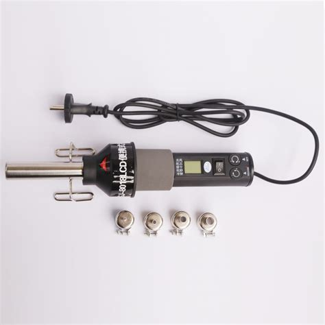 Hair Dryer Air Temperature heat gun 220v electrical temperature digital display