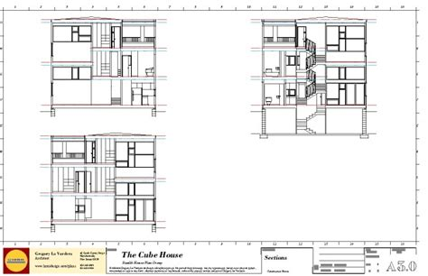 go section 8 ta modern house 2011 0380 cube house section sheet