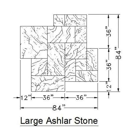 stone pattern cad block large ashlar stone cad hatch cadblocksfree cad blocks free