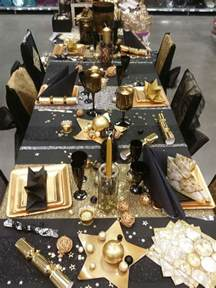 Black And Gold Table Decorations by 17 Best Ideas About Black Gold On Black