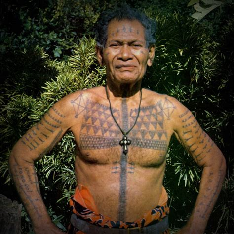 the art of nature tattoo history of western oceania