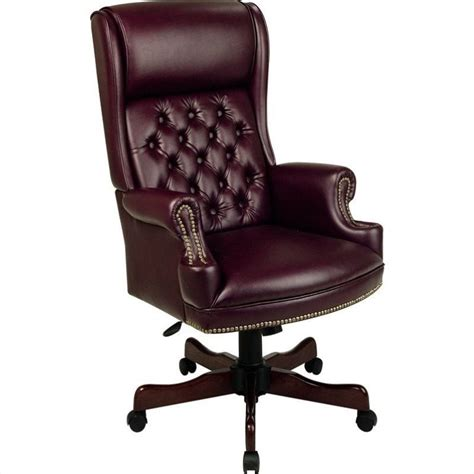 Vinyl Office Chair by Office Traditional Vinyl Executive Office Chair In