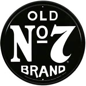 old no 7 brand jack daniels tin sign buy online