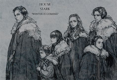 house stark game of thrones theorycrafting the pack survives winter is coming