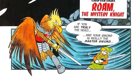 a link to the past comics chapter 01 botw rito race
