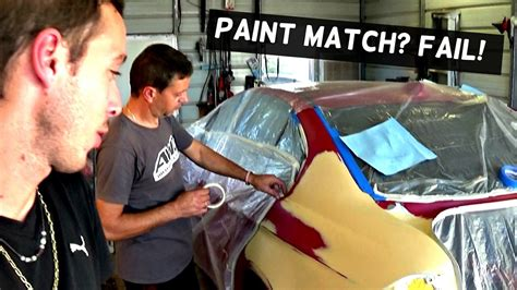 how to match paint how to blend car paint clear coat and bad paint match