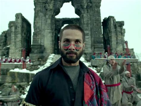 biography of film haider viewers of haider vote shahid kapoor best for the role