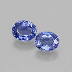 Blue Safir Sapphire 1 35ct 1 4 carat oval 6x5mm blue sapphire gemstones