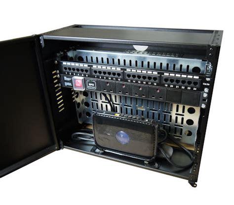 horizontal wall mounted cabinet 4u to 8u slim low profile horizontal mount wall cabinets