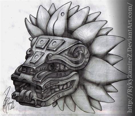 imagenes mayas tattoo quetzalcoatl by rykyramirez on deviantart ink