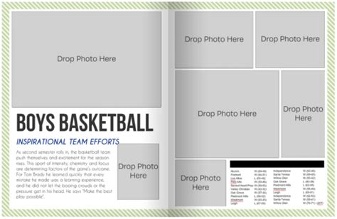 Free Yearbook Page Templates by Yearbook Layout Template Www Imgkid The Image Kid