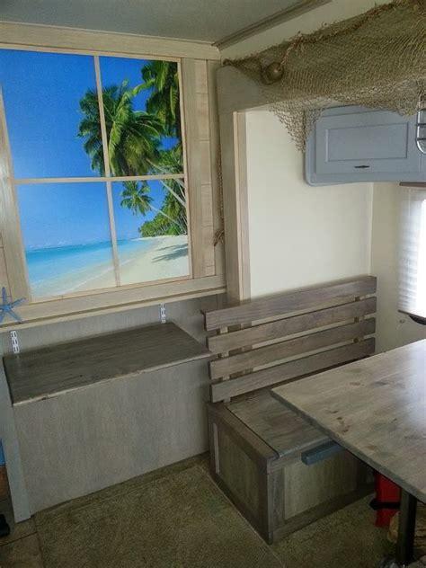 A beach rv interior for the beach bum in all of us