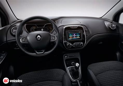 renault captur interior at renault captur 2017 an 225 lise lan 231 amento pre 231 o e fotos