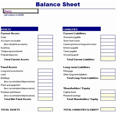 weekly balance sheet template 5 weekly balance sheet template templatesz234