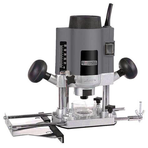professional woodworker  amp plunge router