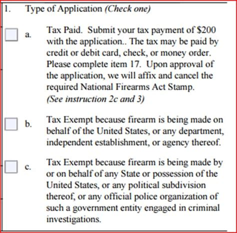 How To Fill Out Application To Pass Atf In A Post Atf 41f World How To Fill Out An Atf Form 1