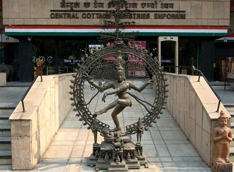 Central Cottage Industries by Panoramio Photo Of The Shiva Statue At The Entrance Of The Central Cottage Industries Emporium
