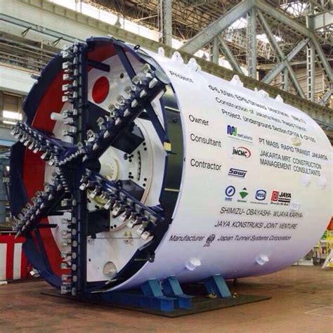 Alat Bor bor antareja berkecepatan 8 meter hari resmi beroperasi