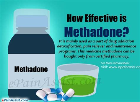 How Do You Detox Methadone by How Effective Is Methadone What Are It S Side Effects