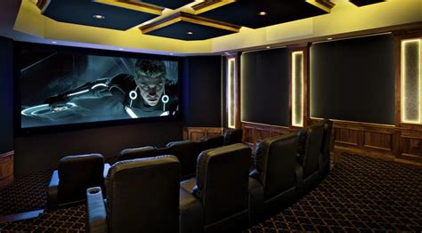 Home Theater High End High End 7 2 4 Studio Grade Home Theater System With M K Pro Speakers Dtv Installations