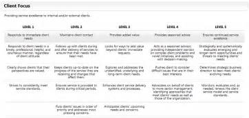 Client Service Plan Template by The Competency Based Management Competency Based
