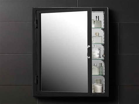 Black Mirrored Bathroom Cabinet Medicine Cabinet Terrific Black Medicine Cabinet With Mirror Medicine Cabinet Boxes Only