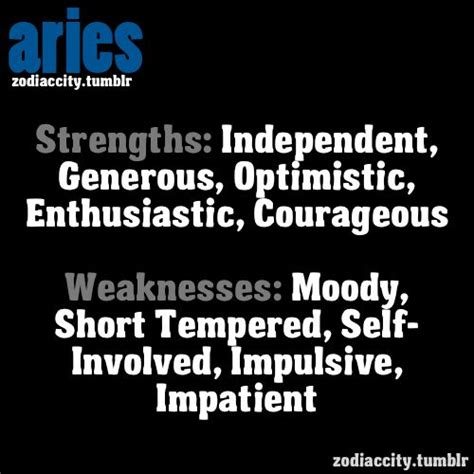 strength bingo and aries traits on pinterest