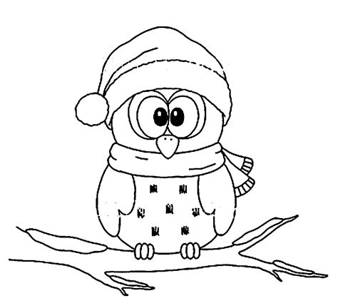 coloring pages ideas christmas owl coloring pages pinterest the world s