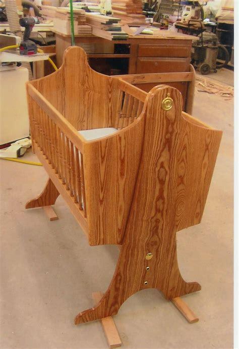 swinging baby cradle handmade swinging baby cradle by ziegler woodwork and