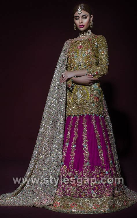 latest bridal dresses tena durrani wedding collection
