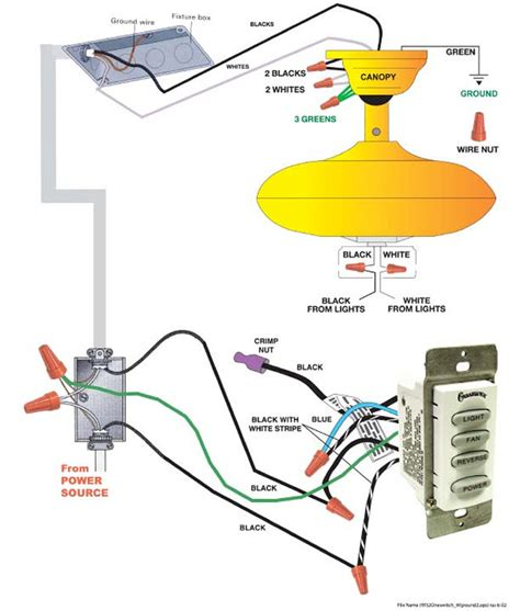 casablanca fan wiring diagram 29 wiring diagram images