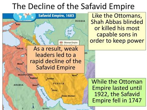 the ottoman empire decline ppt safavid empire powerpoint presentation id 2642561