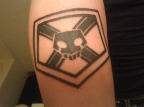 bleach substitute shinigami symbol tattoo by