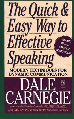the of speaking books book review dale carnegie easy way to effective