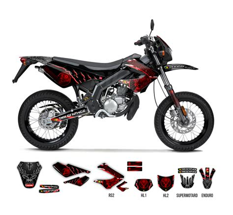 Yamaha Dt 250 Aufkleber by Derbi Senda 50 R Sm Jagermeister Full Graphics Series