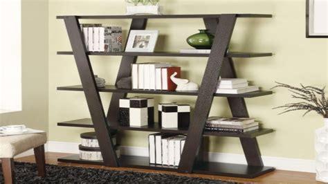 open shelves bookcases inverted modern bookshelf