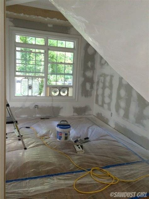 how to drywall a room how to reduce drywall dust when sanding sawdust 174