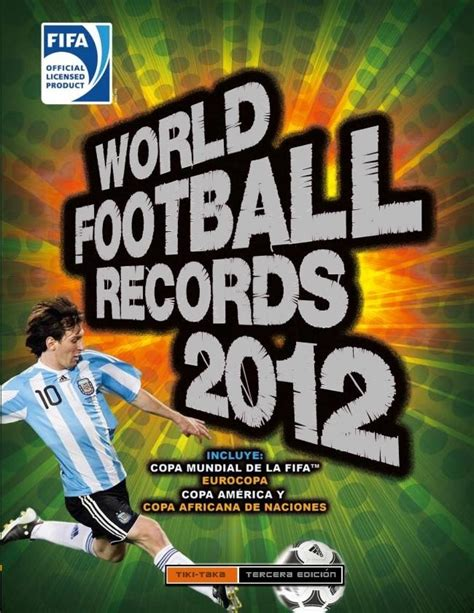 libro world football records 2015 world football records 2012 montena 183 librer 237 a rafael alberti