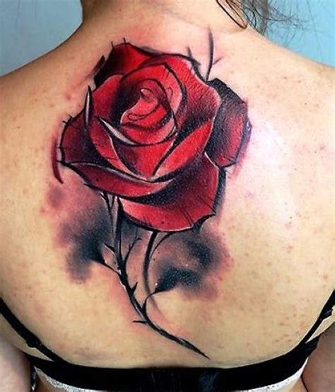 3d red rose tattoo 3d insigniatattoo