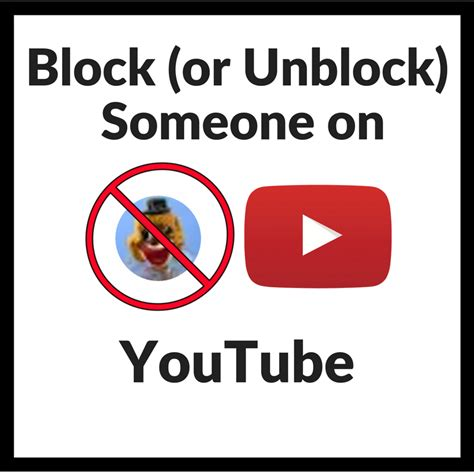 block youtube channels videos and comments with video how to block someone on your youtube channel
