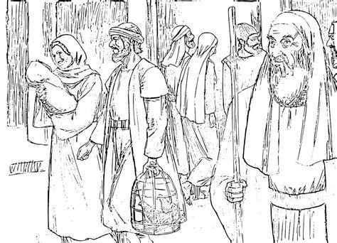coloring page of jesus and nicodemus nicodemus coloring pages