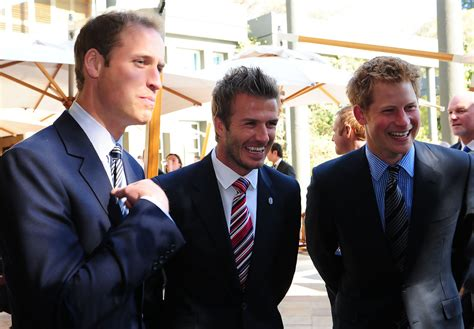 David Beckham Is Prince Charming by Prince William Photos Photos Prince William Prince