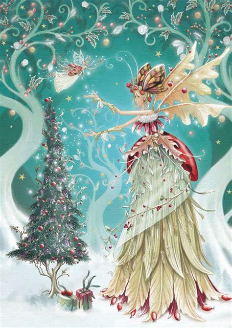 winter fairy fairies pinterest