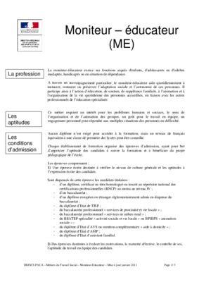 Exemple De Lettre De Motivation Moniteur Ducateur exemple de lettre de motivation pour concours moniteur