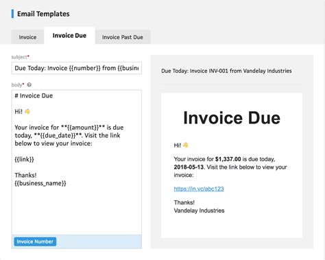 client invoice reminders cushion