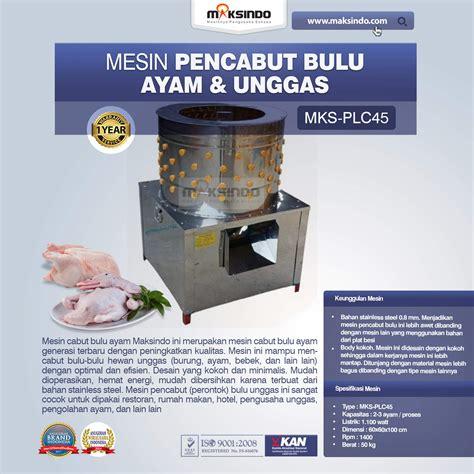 Harga Mesin Pencabut Bulu Ayam Listrik jual mesin pencabut bulu unggas agr plc45 di semarang