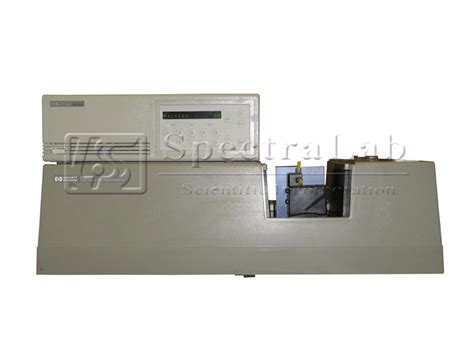 hp 8452a diode array spectrophotometer hp 8452a diode array spectrophotometer with hp 89090a peltier temperature